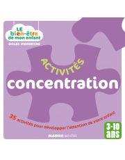 Activités concentration