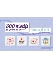 300 motifs au point de croix -  Home Sweet Home