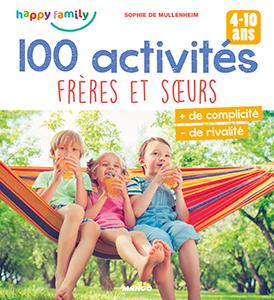 Couverture 100 activités frères et sœurs