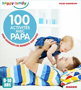 Couverture 100 activités avec papa