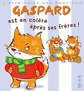 Couverture Gaspard est en colère après ses frères